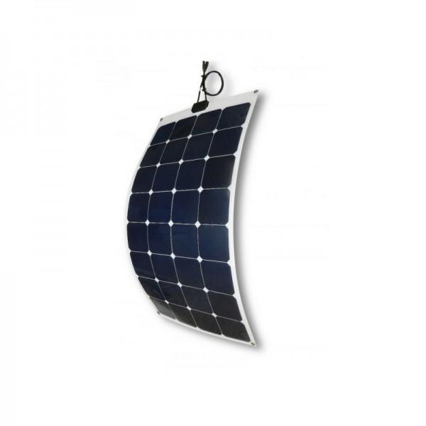 Solarmodule 100Wp - 12V Monokristalline Semiflexible