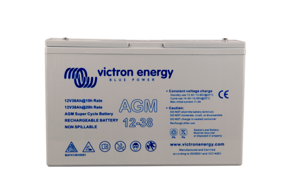 Victron Energy 12V / 60Ah AGM Tiefzyklus Batterie