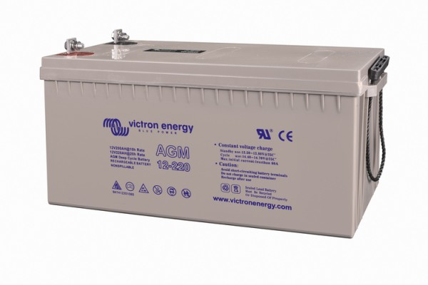 Victron Energy 6V / 240Ah AGM Tiefzyklus Batterie