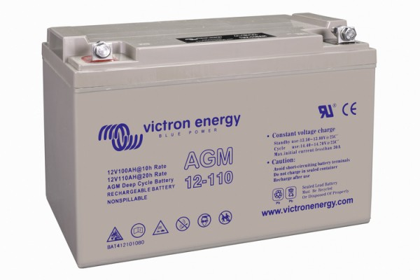 Victron Energy 12V / 110Ah AGM Tiefzyklus Batterie