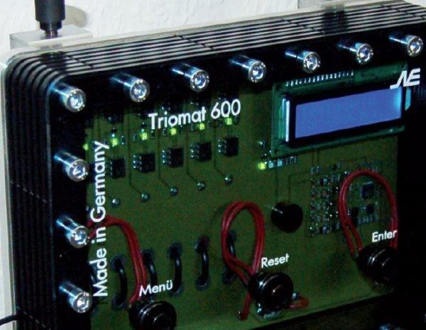 Triomat 600 für größere Wohnanlagen und auch für den Einsatz bei Industrieanlagen