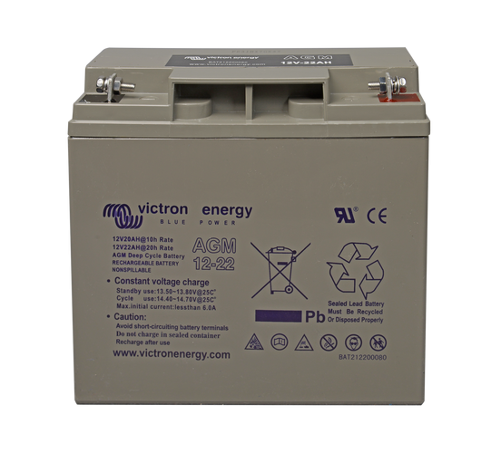 Victron Energy 12V / 14Ah AGM Tiefzyklus Batterie