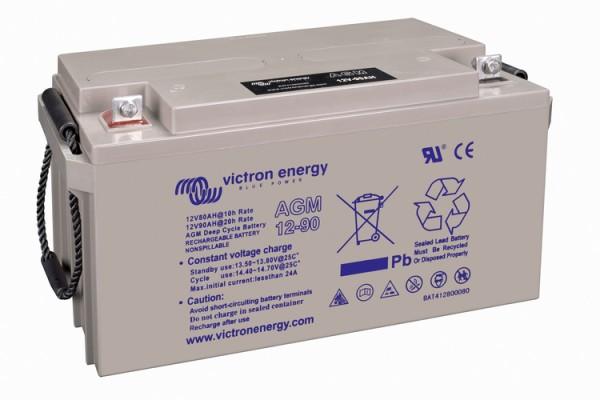 Victron Energy 12V / 90Ah AGM Tiefzyklus Batterie