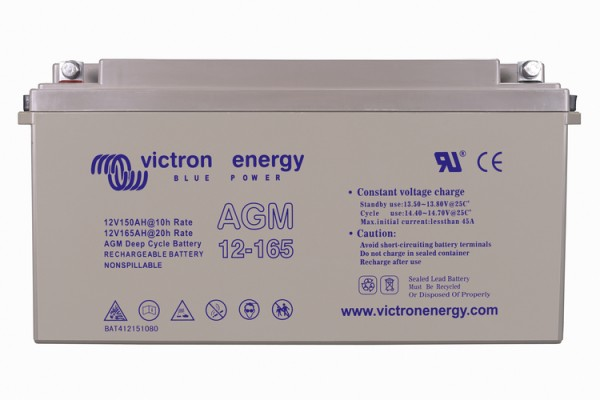 Victron Energy 12V / 165Ah AGM Tiefzyklus Batterie