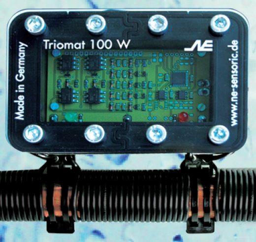 Triomat 100 W für Warmwasserzirkulationskreislauf in Wohnhäusern